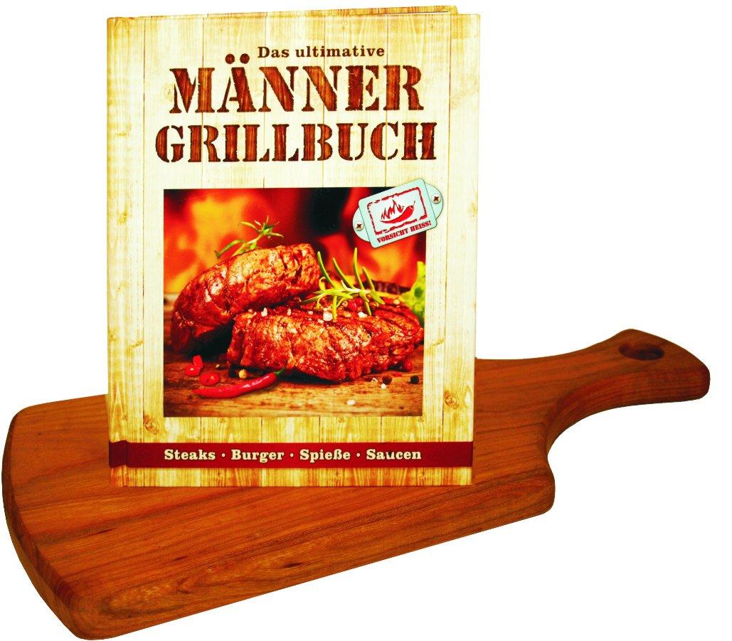 Mini-Burgerbuch Andrea Verlags GmbH 3864051371 Themenkochbücher Männer-Kochbuch
