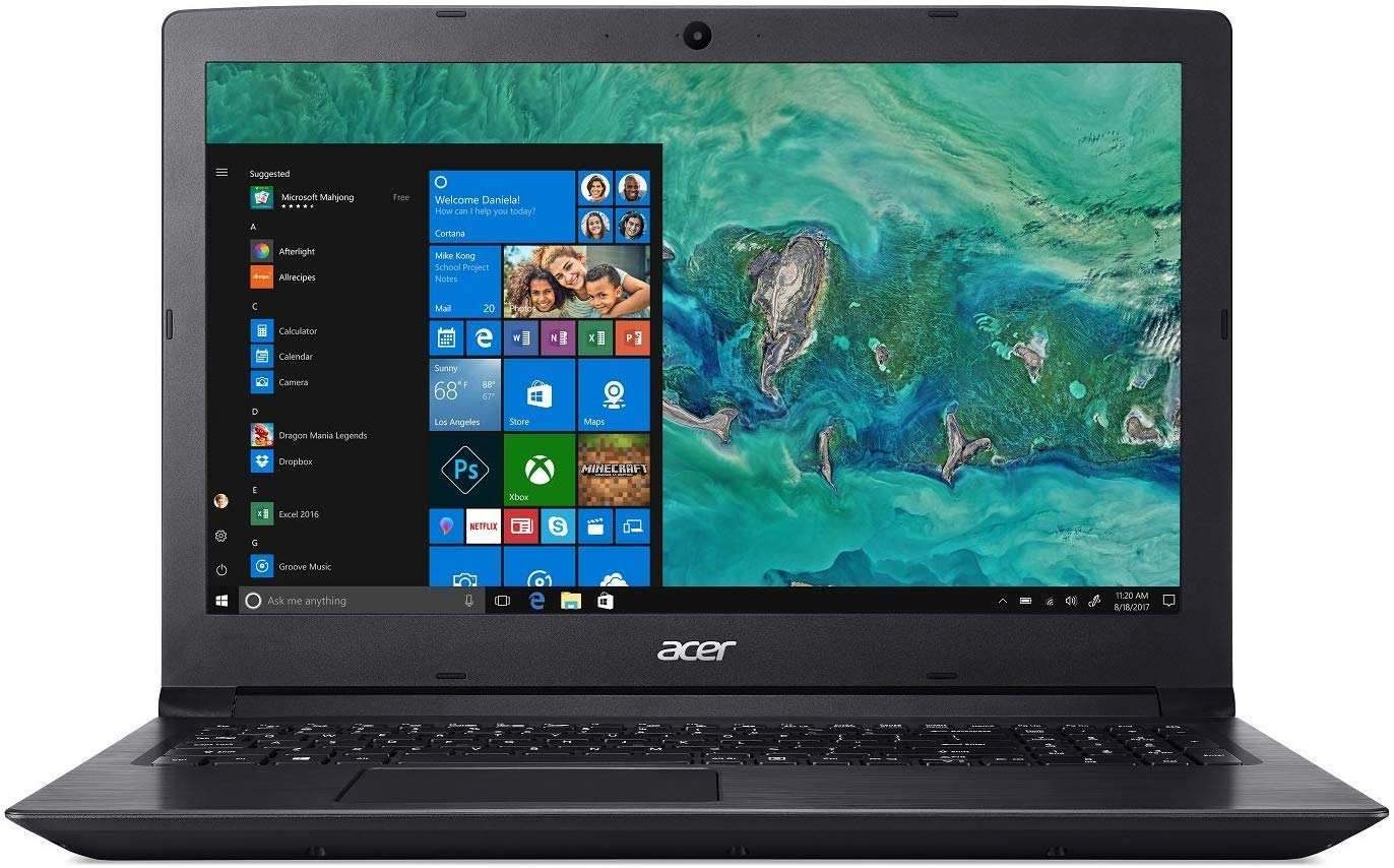 Acer Aspire 3 15.6 High Performance Laptop PC,AMD A9-9420 (Up to 3.6GHz), 6GB RAM, 1TB HDD,Windows 10 (Black)
