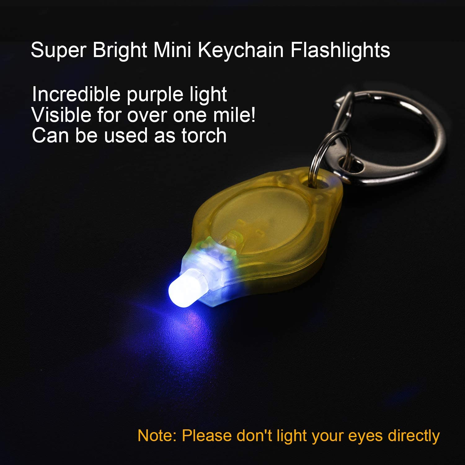 Super Bright LED+Sound Flashlight Keychain with Spin and Turbo Sound Toy SOS Light Novelty Innovative Gift for Dad,Boyfriend Pink