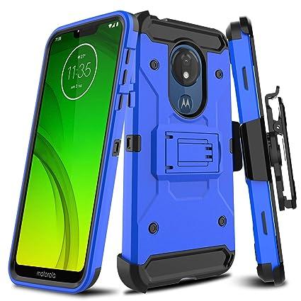 Amazon.com: LEAPTECH - Funda rígida para Motorola Moto G7 ...