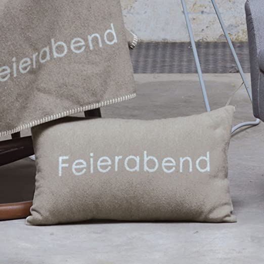 David Fussenegger Kissenhülle Silvretta Lieblingsplatz Rauch