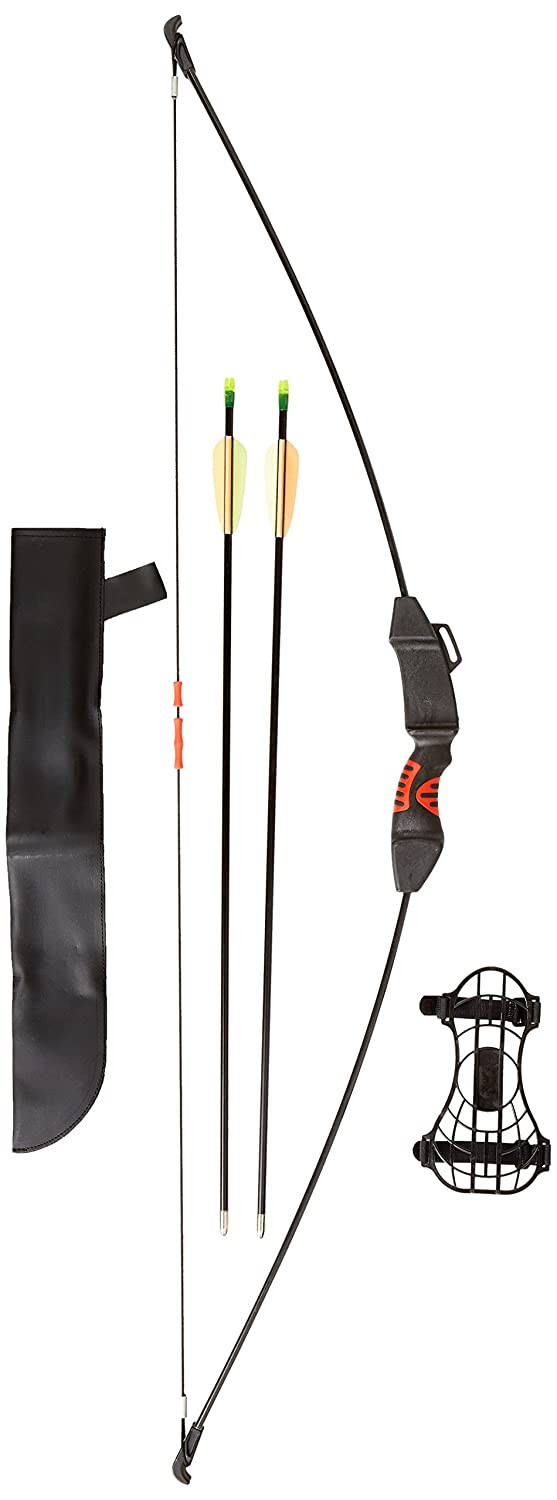 PSE Youth Explorer Recurve Bow, Black, 15-Pound, Right Hand Left Hand