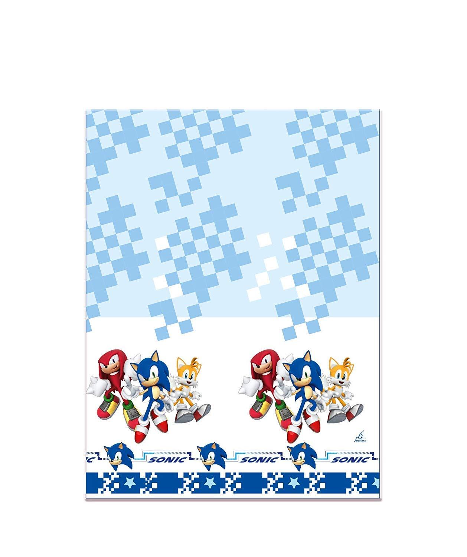 CAPRILO Lote de 2 Manteles Decorativos Infantiles Sonic 120 ...