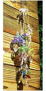 Amazon.com: H&D - Adorno de cristal para ventana, diseño de ...