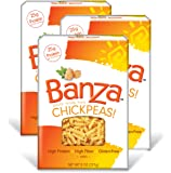 Banza Chickpea Pasta, Rotini 8 Ounces (Pack of 3)