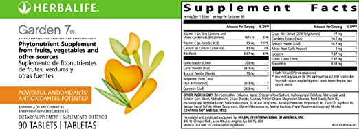 Amazon.com: Antioxidant Phytonutrient Supplement 90 Tablets Vitamins from Fruits & Vegetables: Health & Personal Care