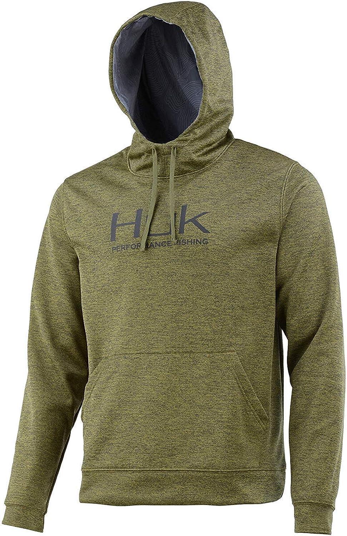 HUK Mens Hull Fleece Hoodie