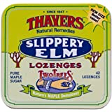 Thayers Slippery Elm Lozenges, Maple 42 ea (Pack of 2)