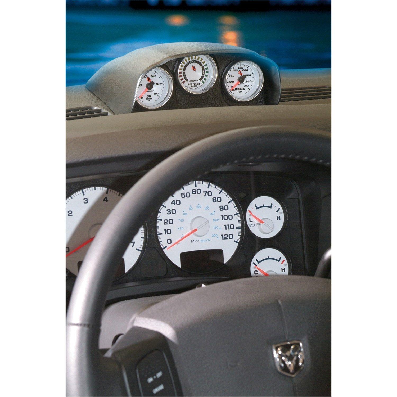 Auto Meter 15020 Gauge Works Triple Dash Pod