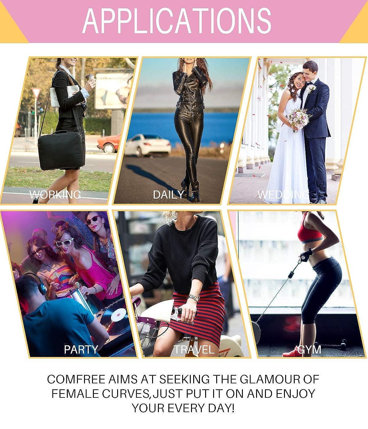 COMFREE Intimo Modellante da Donna Guaina Contenitiva a Vita Alta Formante Pantaloni Pancia Piatta Mutande Contenitive Snellente Body Shaper