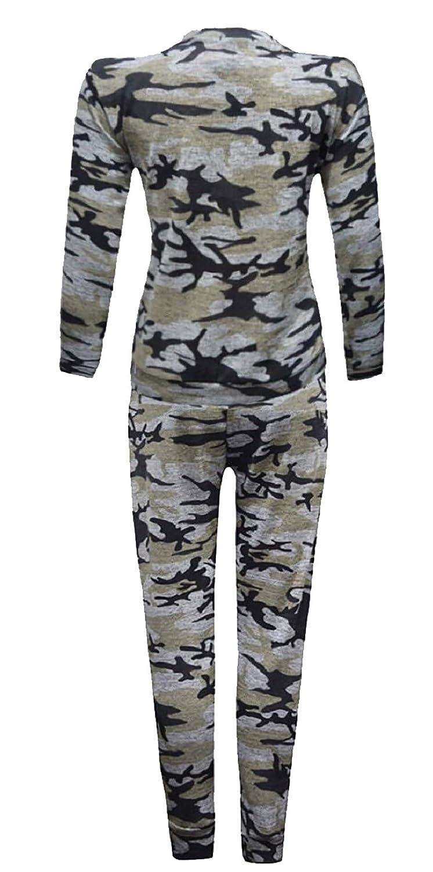 Rimi Hanger Girls Star Camouflage Print Jogging Tracksuit 7-13 Years