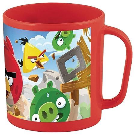Stor 95363 - Taza para microondas, 36 cl, diseño Angry Birds