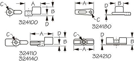 Sea-Dog Single Wing Latch #324110-1