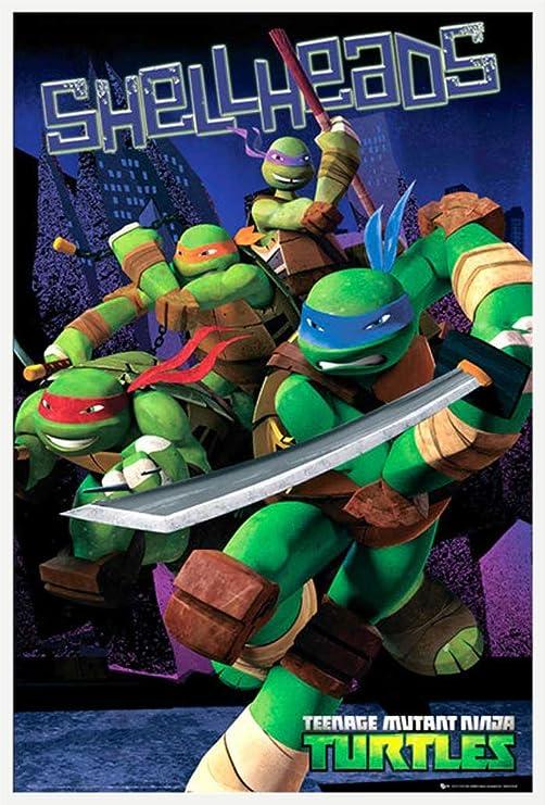 Empire - Póster de Las Tortugas Ninja, diseño con Texto en ...
