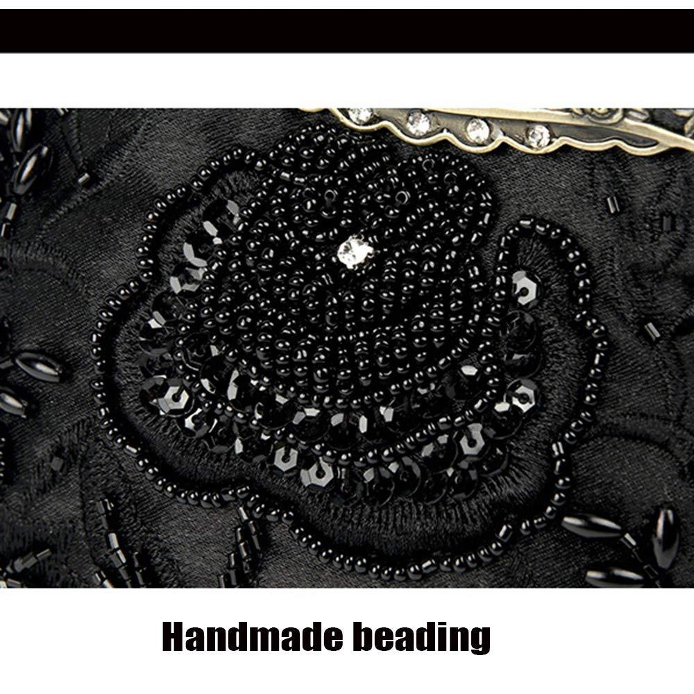 Party Abendtasche, Frauen Frauen Frauen Clutch, Vintage Perlen Pailletten Abend Handtasche Handtasche Hochzeit Tasche Umhängetasche. (Farbe   rot, Größe   18cm4.5cm16cm) B07QCN9QZN Clutches Elegant 696b51