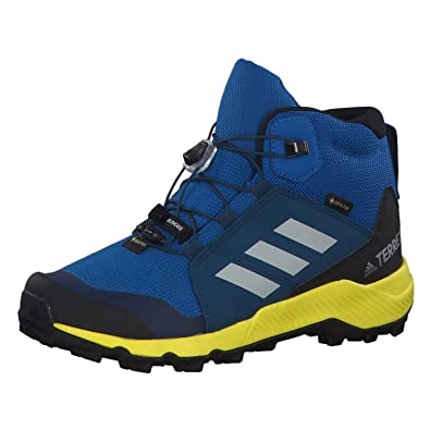check out cf718 b5d72 adidas Performance Terrex Mid GTX Outdoorschuh Kinder blaugelb, 28 EU -  10k UK