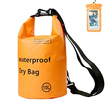 Amazon.com: PREMIUM bolsa impermeable 10L con última ...