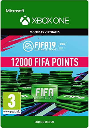 FIFA 19: Ultimate Team Fifa Points 12000 | Xbox One - Código de ...