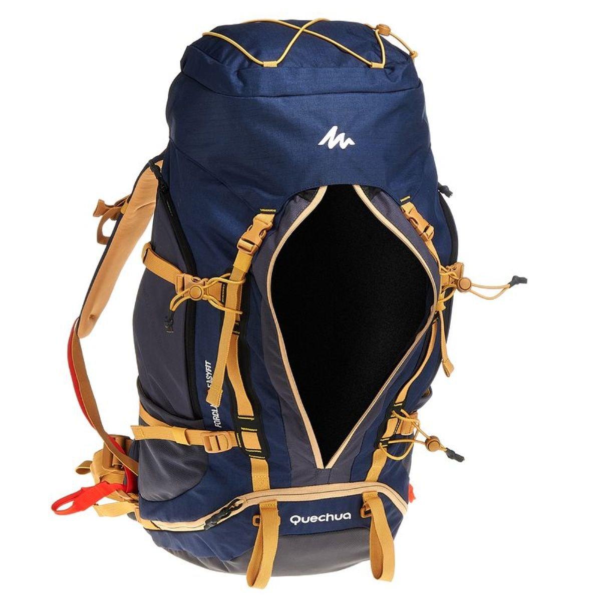 DECATHLON QUECHUA FORCLAZ 50 EASYFIT hombres Multiday Trekking mochila: Amazon.es: Ropa y accesorios