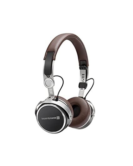1a8ed6431b6 Amazon.com: beyerdynamic Aventho Wireless on-ear headphones with sound  personalization - brown: Cell Phones & Accessories