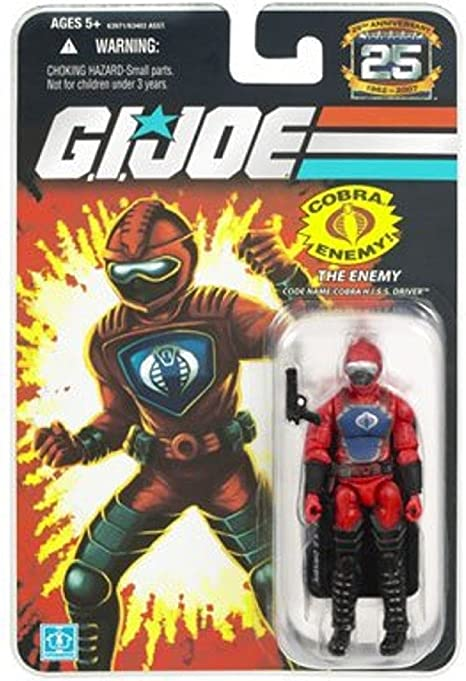 GI Joe 25th Anniversary Cobra HISS Driver  # 2
