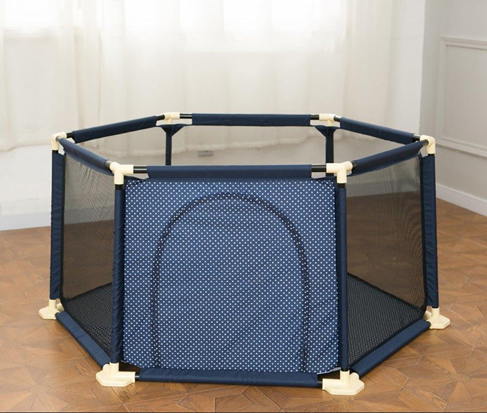 YHDD ベビークロールフェンス室内のおもちゃの安全保護ベビープレイフェンスベビー保護フェンスベビーケージ (色 : Brown, サイズ さいず : 150cm) 150cm Brown B07Q81YLYM