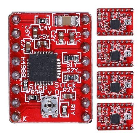 Pololu Red StepStick compatible A4988 Reprap 3D Printer Stepper Motor Driver
