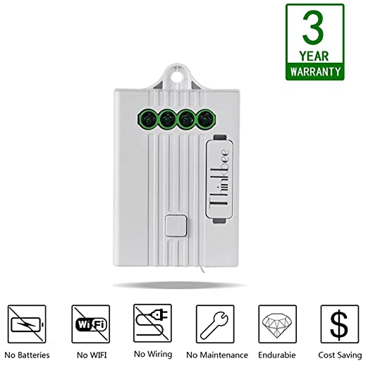 thinkbee light switch receiver remote relay controller to connect rh amazon co uk 3-Way Switch Wiring 1 Light Basic Wiring Light Switch