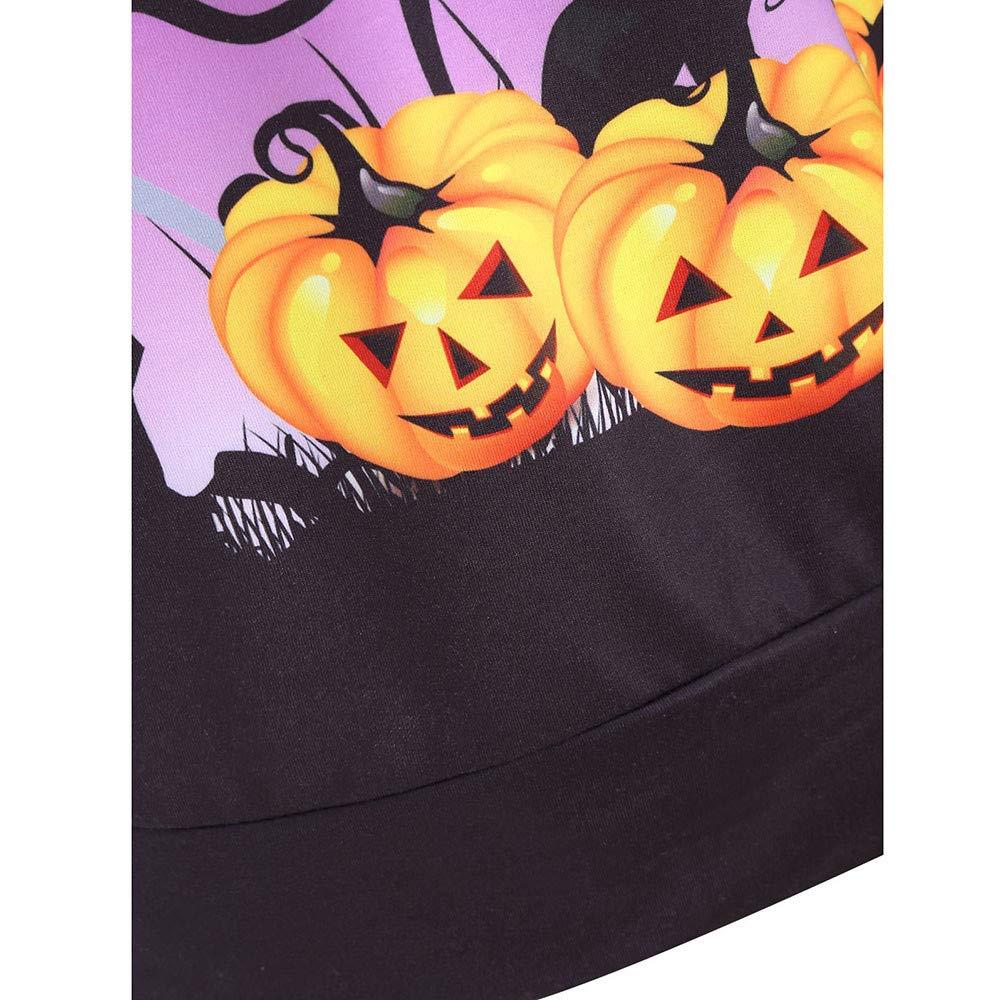 CUTUDE Womens Halloween Pumpkin Devil Sweatshirt Pullover Hoodie Tops Blouse Autumn Winter Outerwear Causal Jacket Coat Fashion 2018