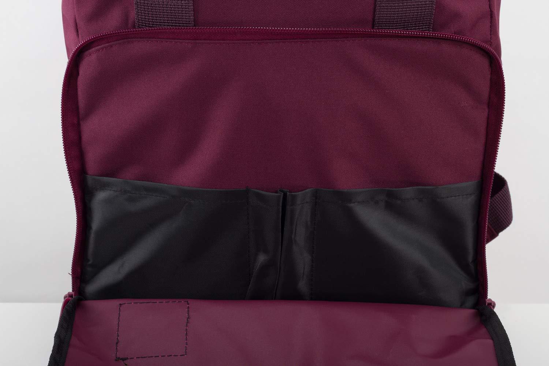 verstellbare Gurte wasserdichter Roll Top Rucksack M13 RollTop Daypack 15L AshGray wasserabweisendes Material Kurierrucksack mit Innenfach Manufaktur13