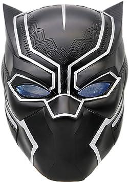 BIRDEU - Máscara de Halloween Hero Deluxe de resina LED negra ...