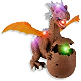 Large Dragon Wings Dinosaur Action Figure new & Boxed Walking Sound & Lights