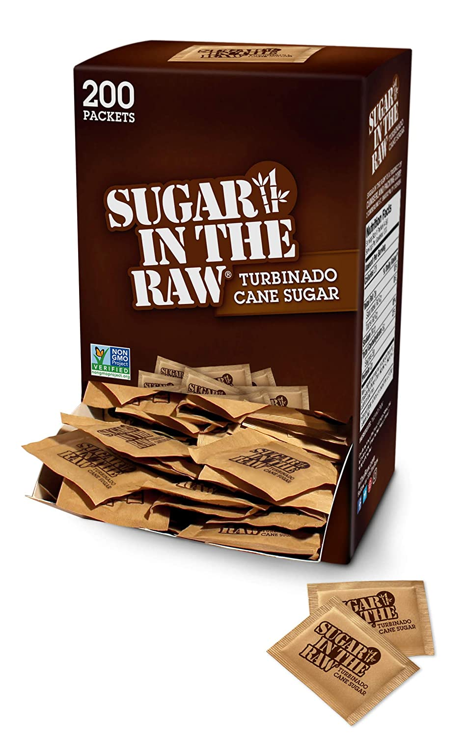In The Raw Sugar, 200 Count
