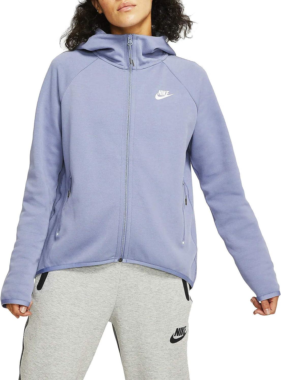 Nike Womens Nsw Tech Fleece Cape Hoodie Bv7565 512 Size Xs At Amazon Women S Clothing Store