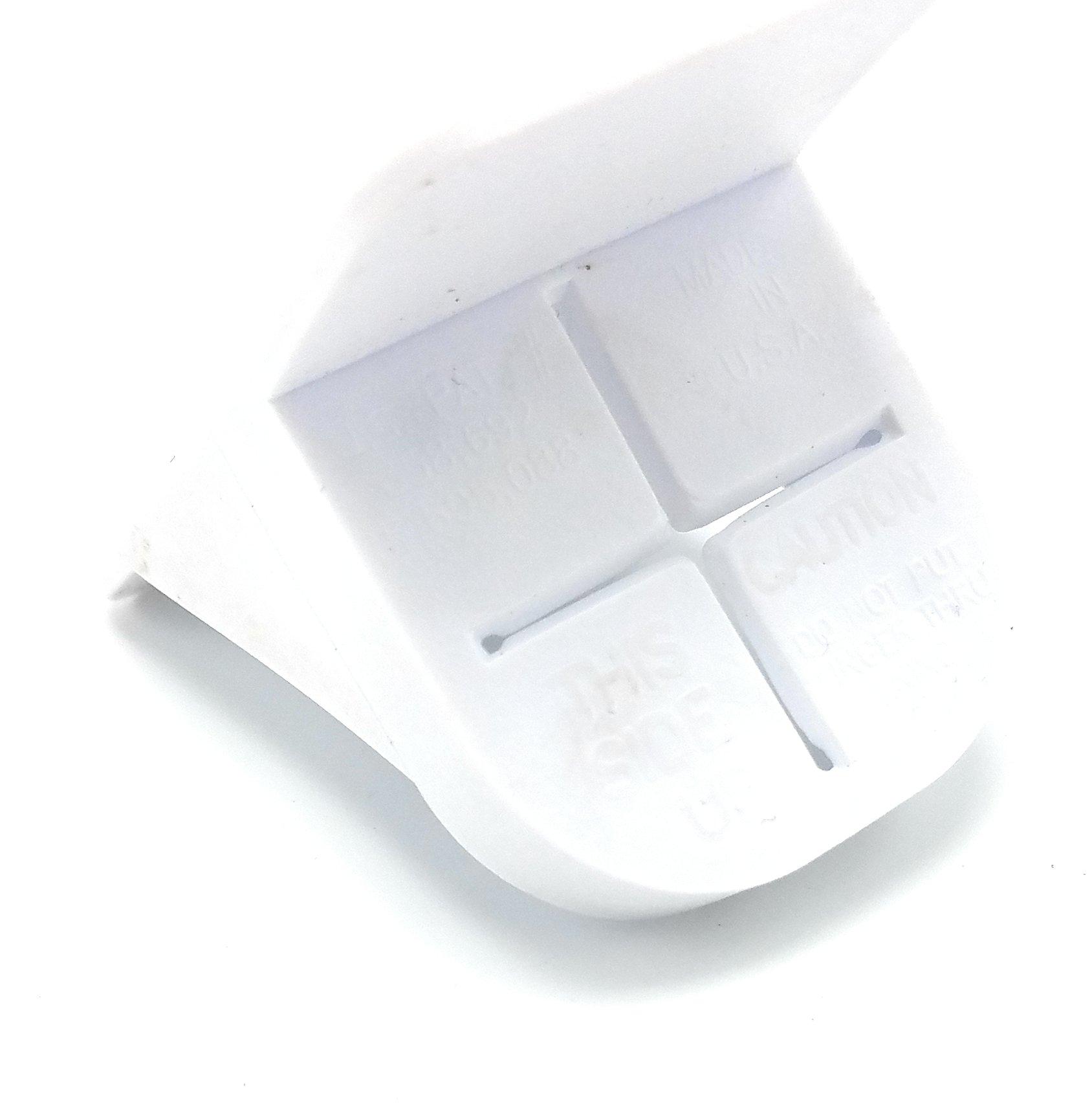 Trash Bag Cinch, White, 2 Pk
