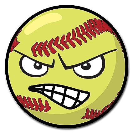 Softball angry. Amazon com signmission corrugated
