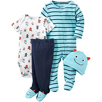Carters Baby Boys 4 Pc Sets 126g407
