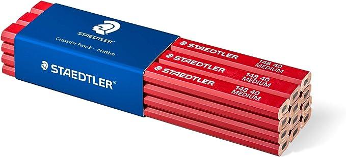 AERZETIX 12X Crayon de menuisier menuiserie bricolage ma/çonnerie b/âtiment travaux chantier C1212