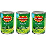 Del Monte Blue Lake Cut Green Beans w/Natural Sea Salt 14.5 Oz. (3 Pack)