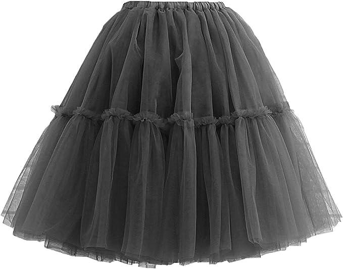 Wilson Nina Vintage tutú de Tul Midi para Mujer Ballet Faldas ...