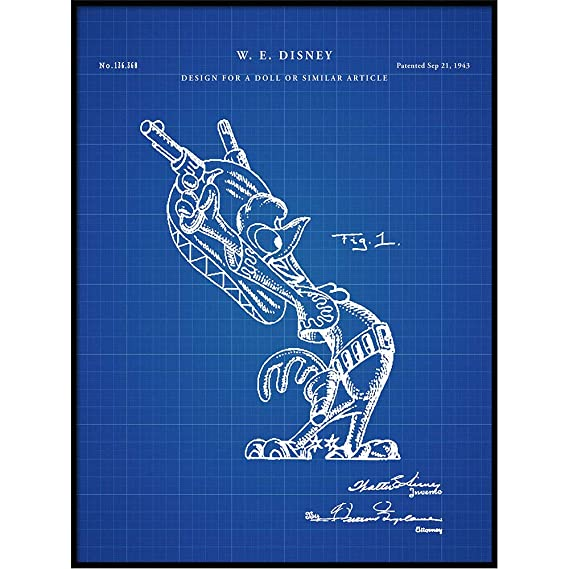 Amazon.com: Vintago Panchito Pistoles Patent Art, Poster ...