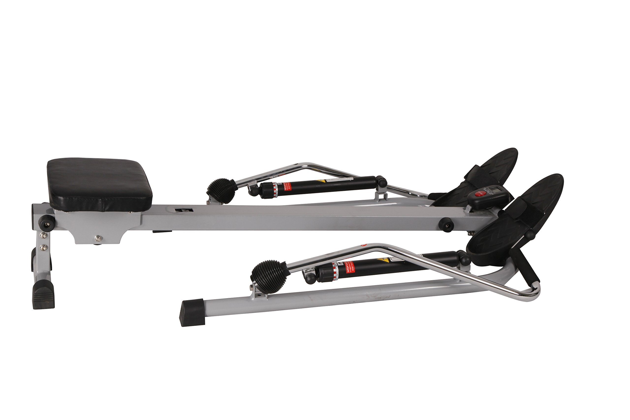 Sunny Health & Fitness SF-RW5619 12 Level Resistance Rowing Machine Rower w/ Independent Arms by Sunny Health & Fitness (Image #3)