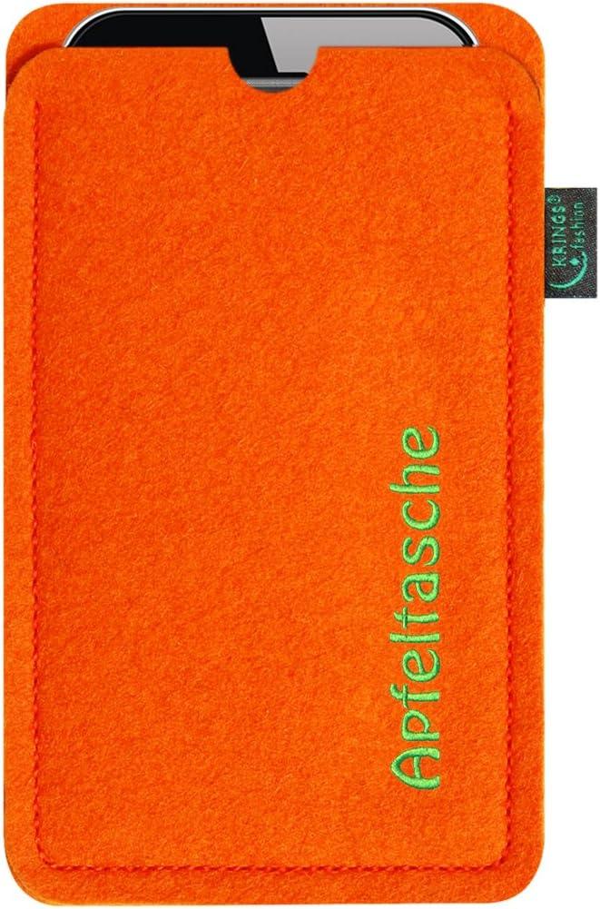 8 Plus Qualit/ät aus Deutschland anthrazit; Tasche//Schutzh/ülle speziell f/ür Ihr iPhone 11 und 8 Plus Apfeltasche KringsFashion H/ülle Tasche f/ür iPhone 11 Filz 100/% Wollfilz