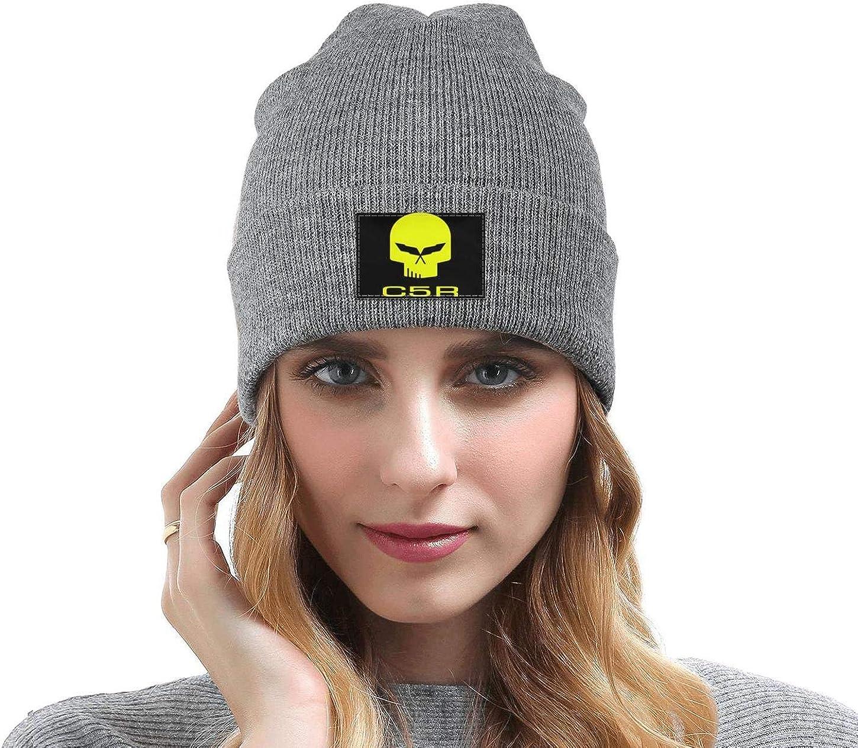 Wool Beanie Cap Knit Caps Fine Knit Beanie Skull HatsStay Warm sdfjkoinj Mens Corvette-Logo-Symbol