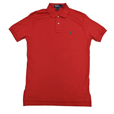 b9abdc85f Polo Ralph Lauren Mens Classic Fit Interlock Polo Shirt at Amazon Men's  Clothing store: