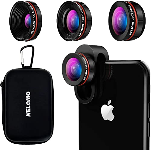 Nelomo Universal HD Camera Lens Kit