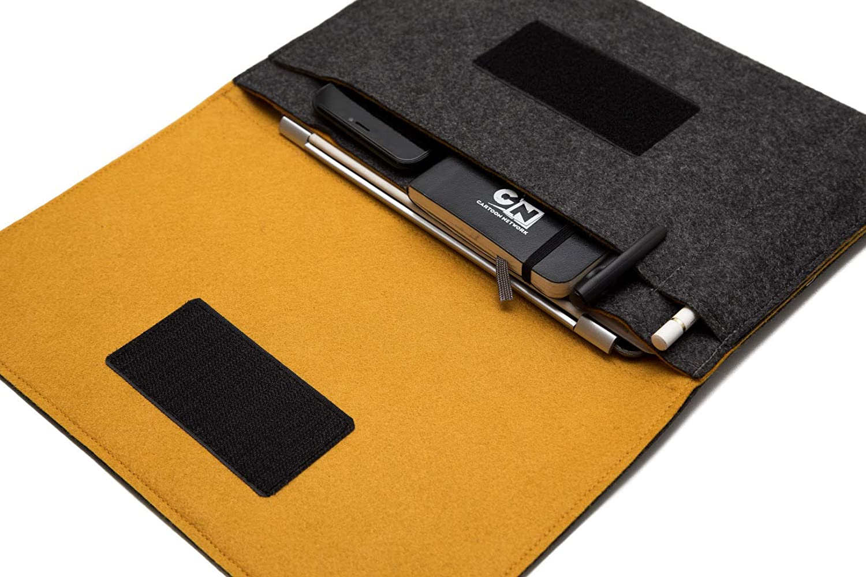 Apple Pencil Pocket Smart Keyboard Compatible Handmade 12.9 iPad Pro Case 3rd generation 2018