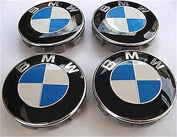 4 tapas para llantas de BMW de 68 mm para tapas de polvo, serie 1, 3, ...