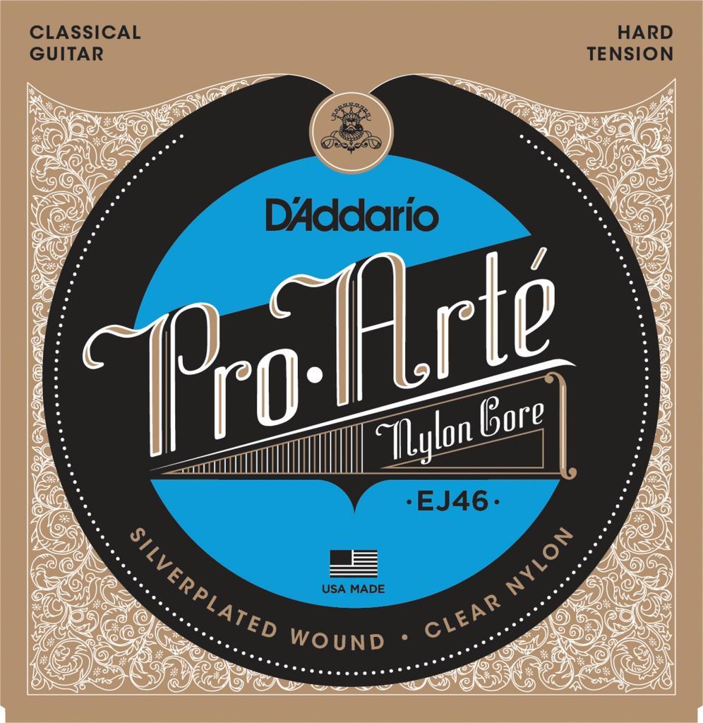 d 39 addario ej46 pro arte nylon classical guitar strings hard tension musical. Black Bedroom Furniture Sets. Home Design Ideas