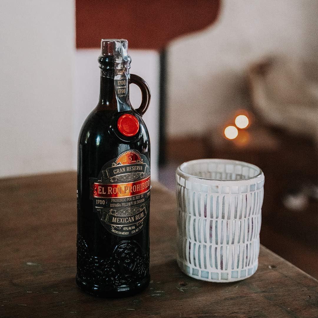 El Ron Prohibido Solera Gran Reserva 15 Años, 700 ml